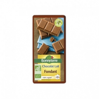 Chocolat Lait Fondant 100g -Bonneterre