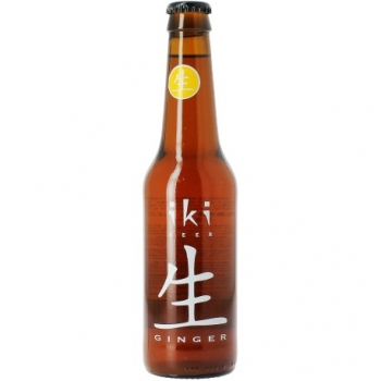Bière Bio au Gingembre - 33cl - Iki Beer