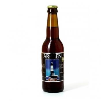 Bière Ambrée au Blé Noir - 33cl - Ar-Men