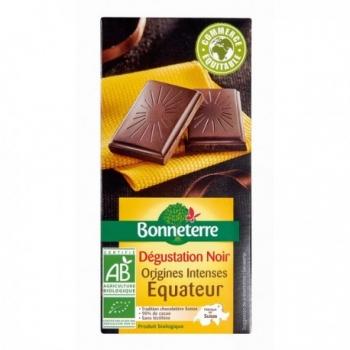Chocolat Noir Origines Intenses Equateur 70g -Bonneterre