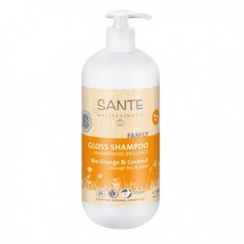 Shampooing Brillance Bio Orange et Coconut - 950ml -  Santé Naturkosmetik