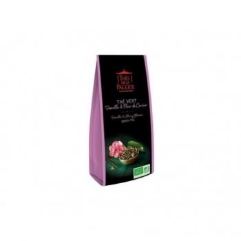 Thé Vert Vanille & Fleur de Cerisier - 100gr - Thés de la Pagode