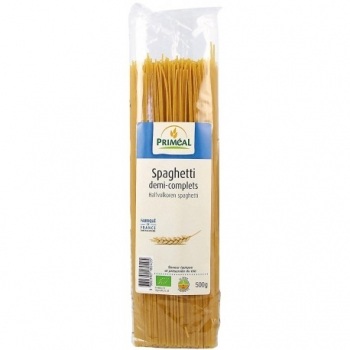 Spaghetti Demi-Complets - 500gr - Priméal
