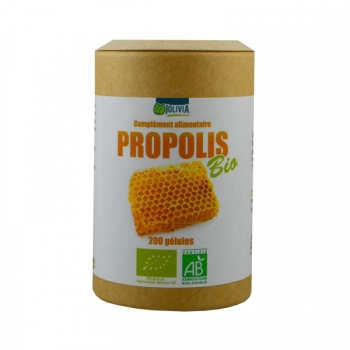 Propolis Bio Extrait - 200 gélules végétales de 40 mg