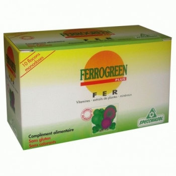 Ferrogreen Plus - 10x8ml - Specchiasol