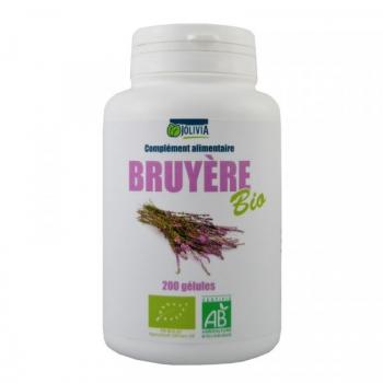 Bruyère Bio - 200 gélules de 250 mg