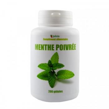 Menthe poivrée - 200 gélules de 250 mg