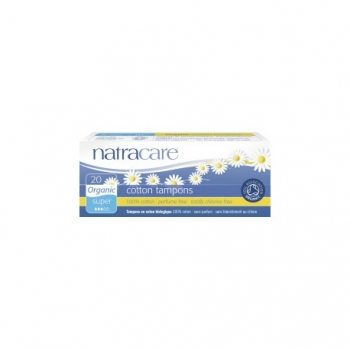 Cotton Tampons Super - 20 pièces - Natracare