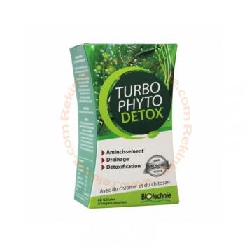 Turbo Phyto Detox - Amincissement - 60 gélules