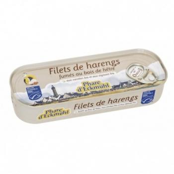 Filets de Harengs Fumés au Bois de Hêtre - 150gr - Phare d'Eckmühl