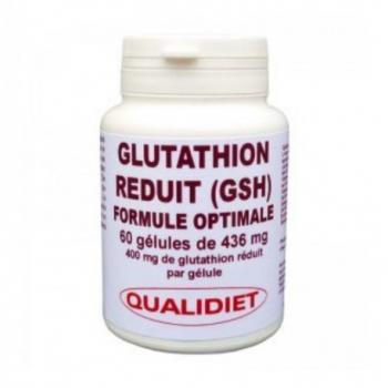 L-Glutathion Reduit (GSH) - 60 Gélules - Qualidiet