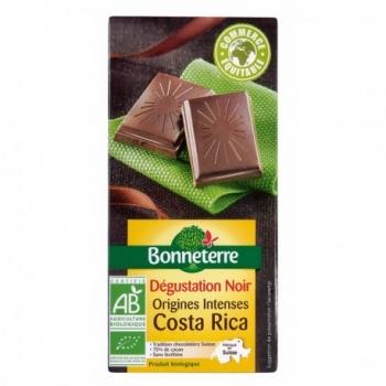Chocolat Noir Origines Intenses Costa Rica 80g -Bonneterre