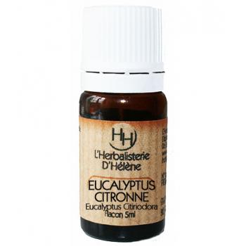 Eucalyptus Citronné, 5ml, L'Herbalisterie D'Hélène