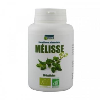 Mélisse Bio - 200 gélules de 250 mg