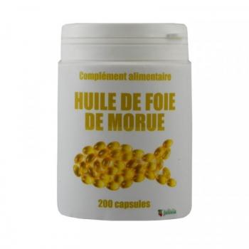 Foie de morue - 200 capsules de 500 mg