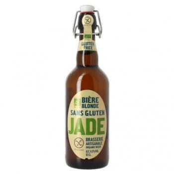 Bière Blonde Sans Gluten - 65cl - Jade