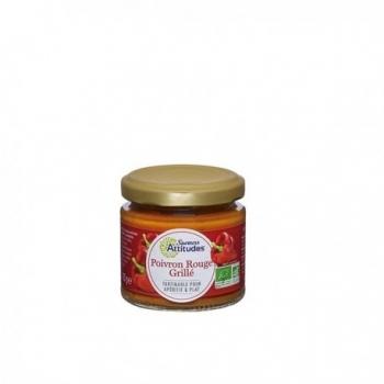 Tartinable Poivron Rouge Grillé - 125gr - Saveurs Attitudes