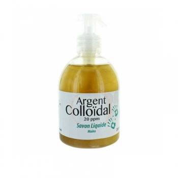Savon Liquide Mains à l'Argent Colloïdal - 250ml