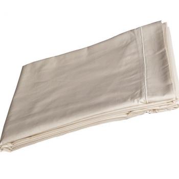 Drap pour lit 2 personnes -Percale de coton bio ( 240x300 cm )