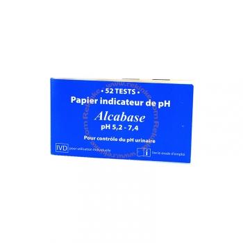 Papier Indicateur de pH - 52 bandelettes