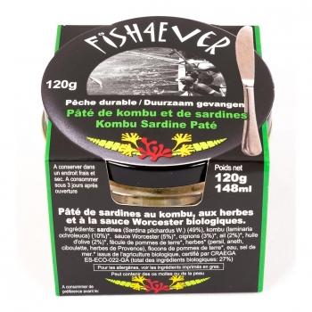 Pâté Sardines - Kombu 120g - FISH4EVER