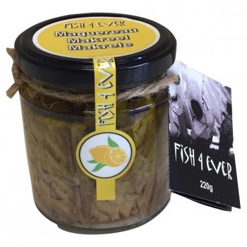 Maquereau à l'Huile d'Olive, Câpres et Citron 220g - FISH4EVER