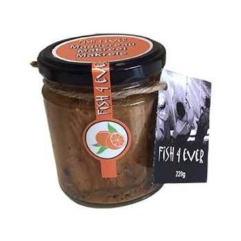 Maquereau au jus d'orange et poivre noir 220g - FISH4EVER