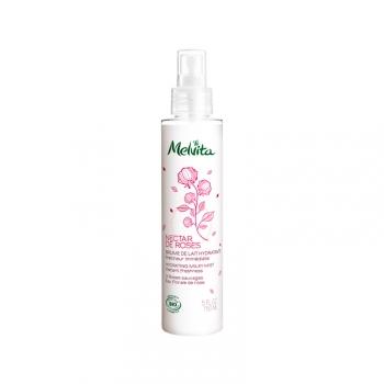 Nectar de Rose Brume de Lait Hydratant Bio -Fraîcheur immédiate - 150ml
