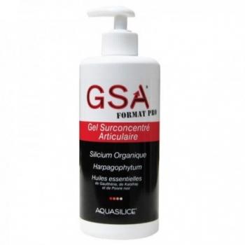 GSA Gel Surconcentré Articulaire GSA Pro - 500ml - Aquasilice