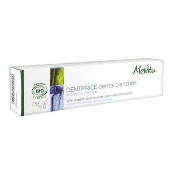 Dentifrice Dents Blanches Bio - Arôme Menthe - 75ml
