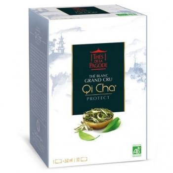 Qi Cha Protect Thé blanc - 90 Infusettes - Thés de la Pagode