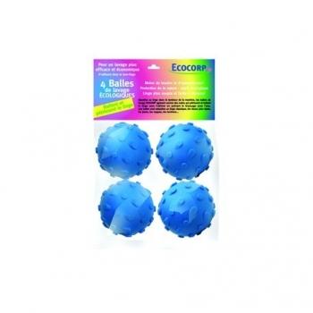 Balles de Lavage Ecologiques - 4 Balles - Ecocorp