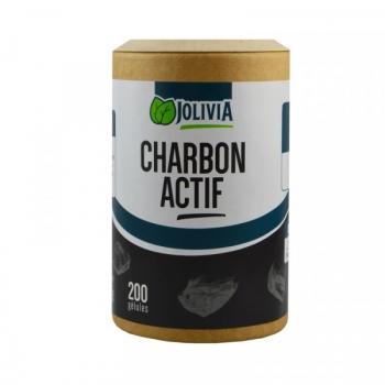 Charbon actif - 200 gélules de 210 mg