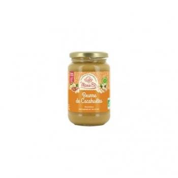 Beurre de Cacahuète Crunchy Bio - 350gr - Mamie Bio