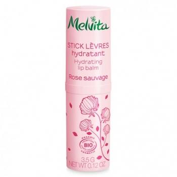 Stick Lèvres Hydratant Rose Sauvage Bio - 3.5g - Melvita