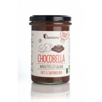 Chocobella Pâte à Tartiner Noisettes et Cacao Bio - 365g - Damiano
