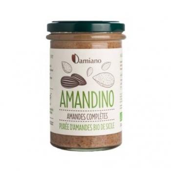 Amandino Purée d'Amande Complètes Bio - 750g - Damiano