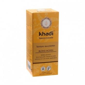 Coloration Végétale Blond Moyen - 100g - Khadi