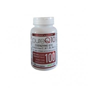 Pure Q10 100mg - 100 Gélules - LT Labo