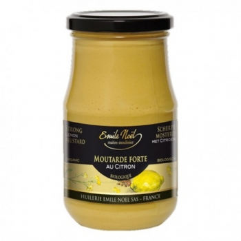Moutarde Forte au Citron Emile Noel, 350g