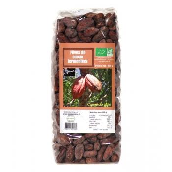 Fèves de cacao Bio fermentées