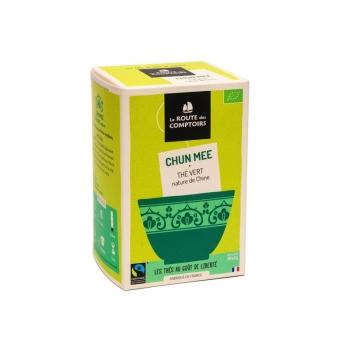 Thé vert bio Chun Mee