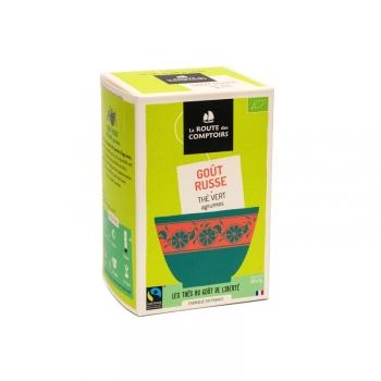 Thé vert bio Goût Russe