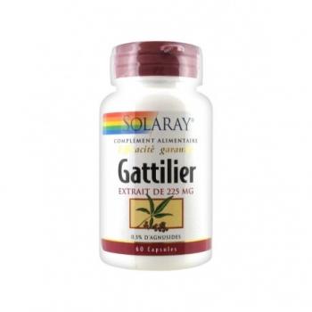 Gattilier - Régulateur Hormonal - 60 capsules de 225mg