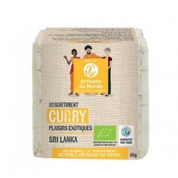 Assortiment curry Bio - 65g