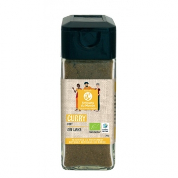 Curry fort Bio - 30g
