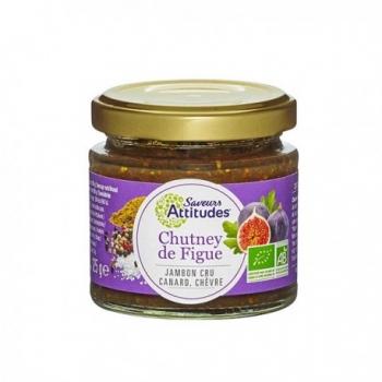Chutney de Figue 125g-Saveurs Attitudes