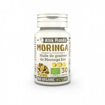 Huile de Graines de Moringa Bio - 30 capsules - LT Labo