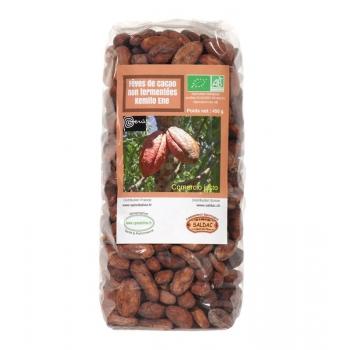 Fèves de cacao Bio non fermentées 450 g