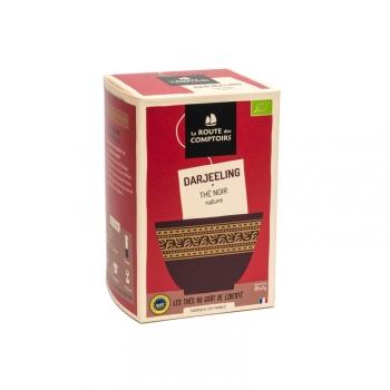 Thé noir bio Darjeeling - infusettes